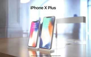 "Leak: Fotos von ""iPhone X Plus"" Display mit Notch"