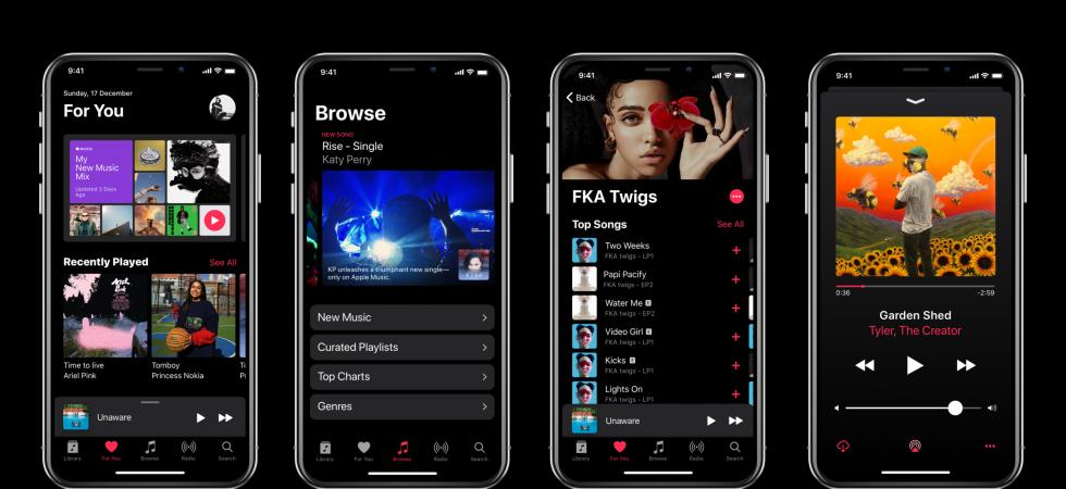 WOW: iOS 11 Dark-Mode Konzept fürs iPhone X sieht beeindruckend aus