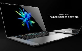 Verrücktes Konzept: Mischung aus MacBook und iPhone X