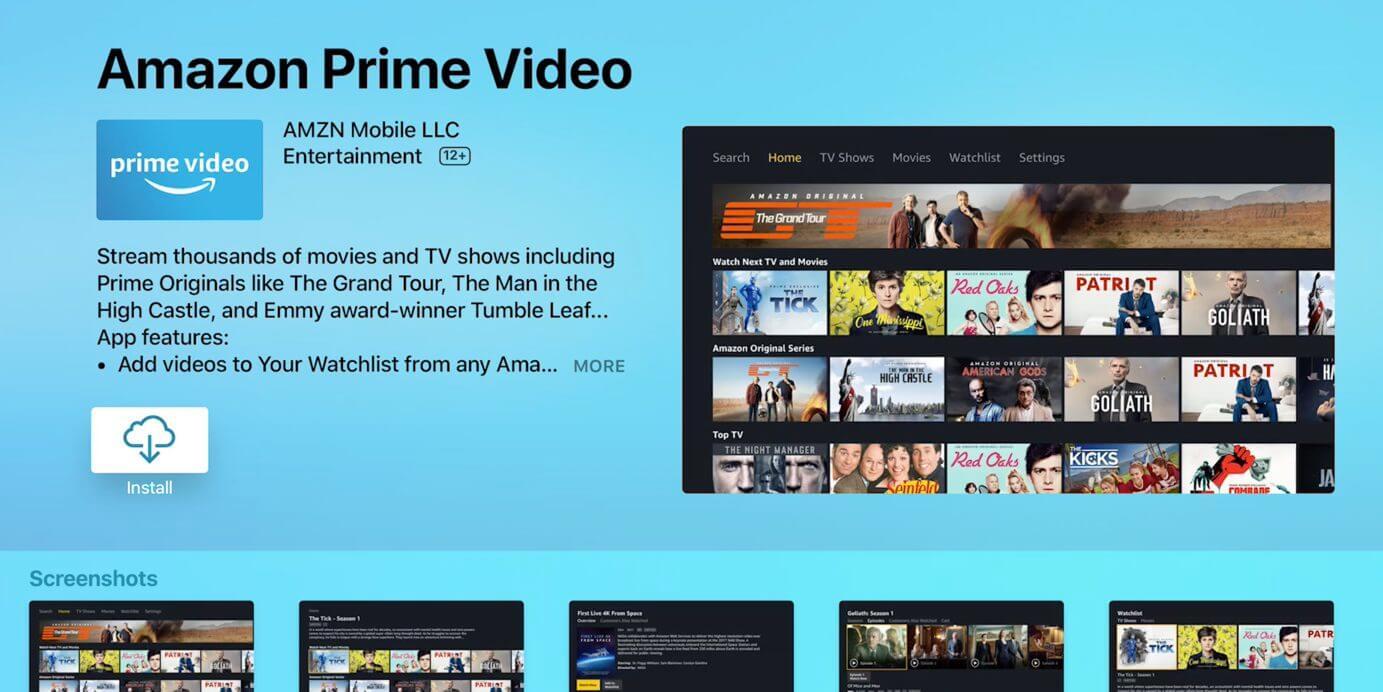 Fehlstart: Amazon Prime Video für Apple TV lässt auf sich warten