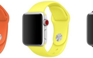 Neue Farben: Apple Watch Bänder und iPhone Cases
