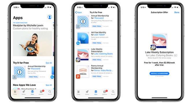 App Store: Neue Kategorie zeigt Apps zum kostenlosen Ausprobieren