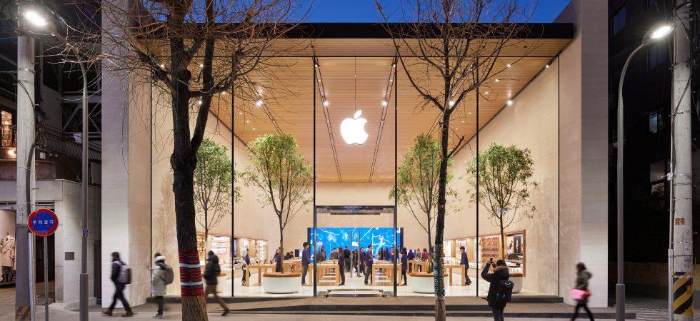 Bei Samsung um die Ecke: Erster Apple Store in Südkorea öffnet am Samstag
