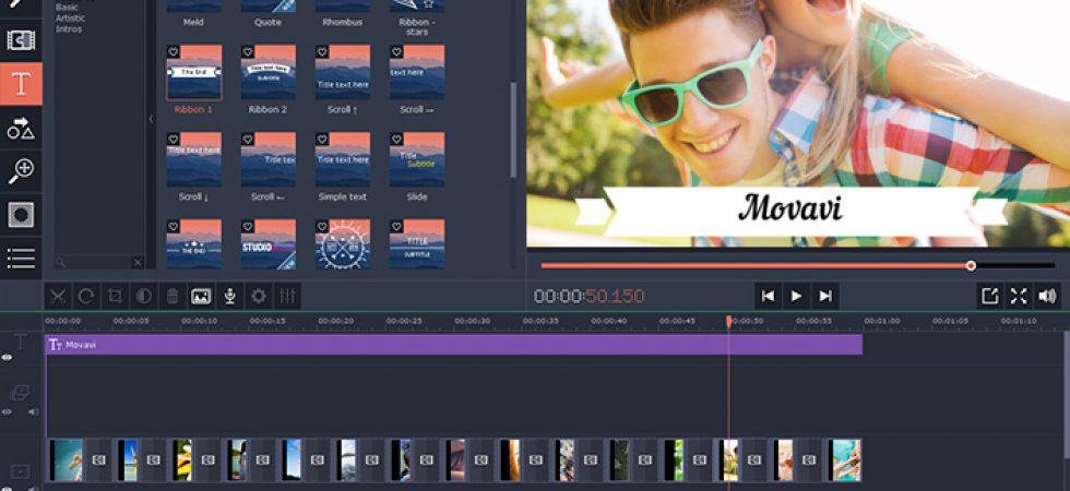 Mit dem Movavi Video Editor werden selbstgemachte Videos zum Unterhaltungshit