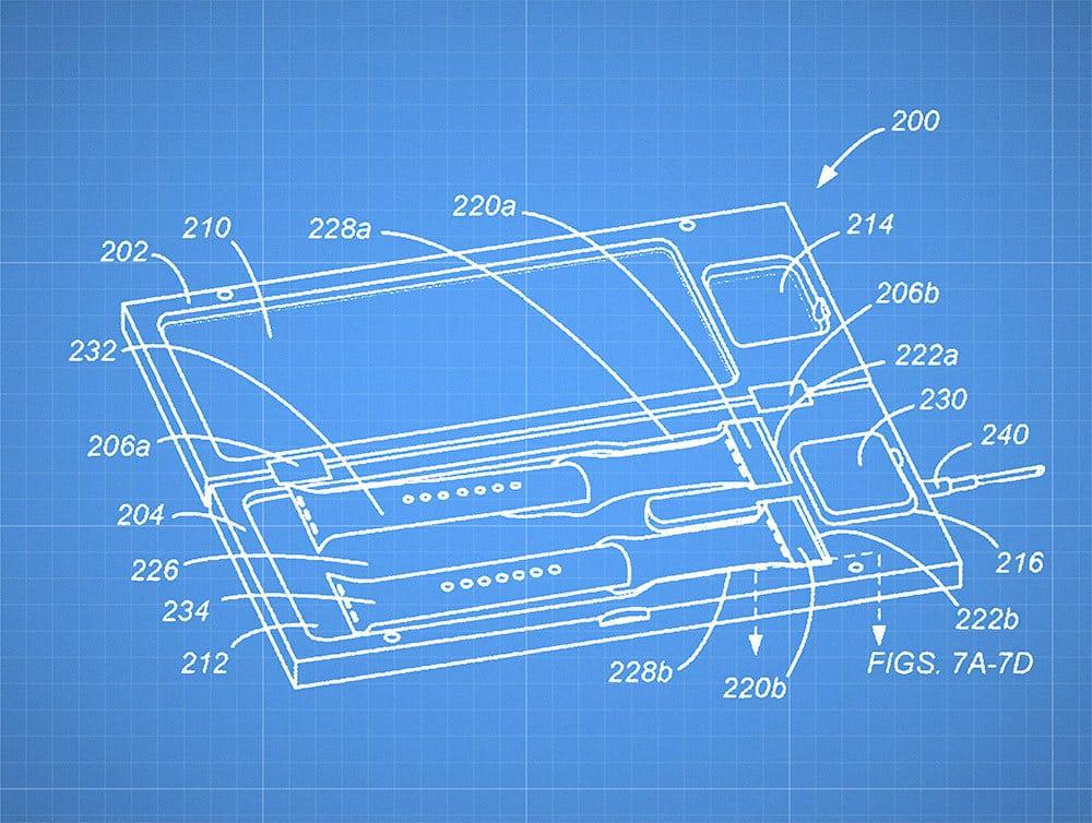 Patent: Apple Watch mit Lade-Case für Uhr und Armbänder?