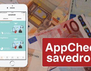 Einfach und kreativ Geld sparen – AppCheck: savedroid