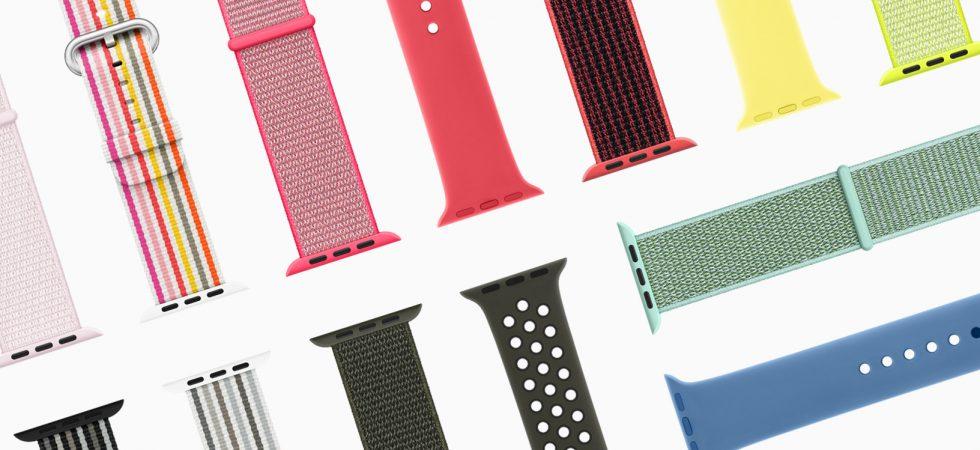 Breaking: Apple veröffentlicht neue Apple Watch Armbänder