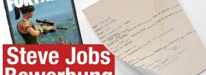 Video: Bewerbung von Steve Jobs versteigert, iPhone SE 2 Leak?, Fortnite für iOS – ATA 58