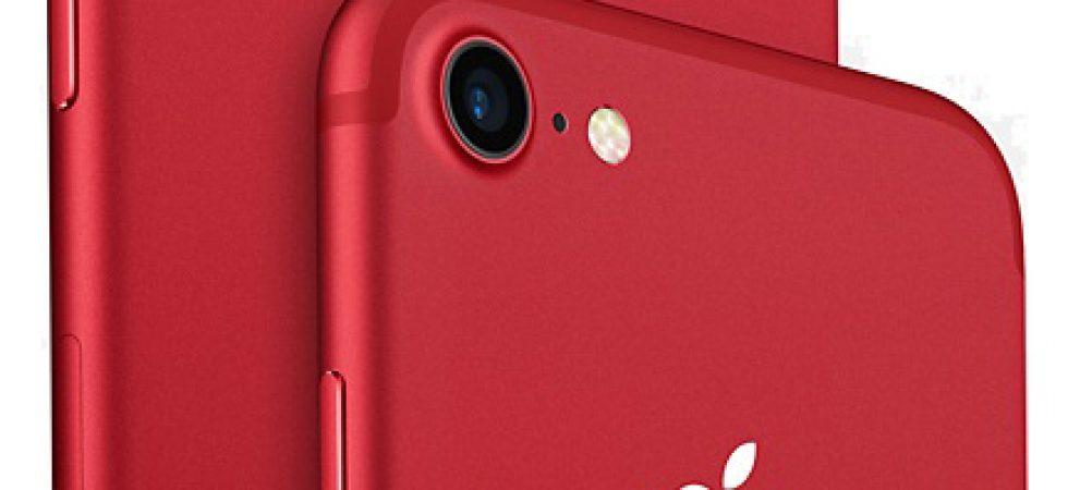 Spannend: Kommt heute noch ein rotes iPhone 8?