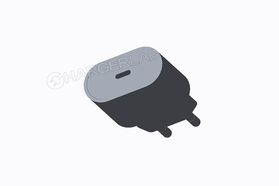 USB-C-Charger mit 18 Watt für das iPhone - Rendering