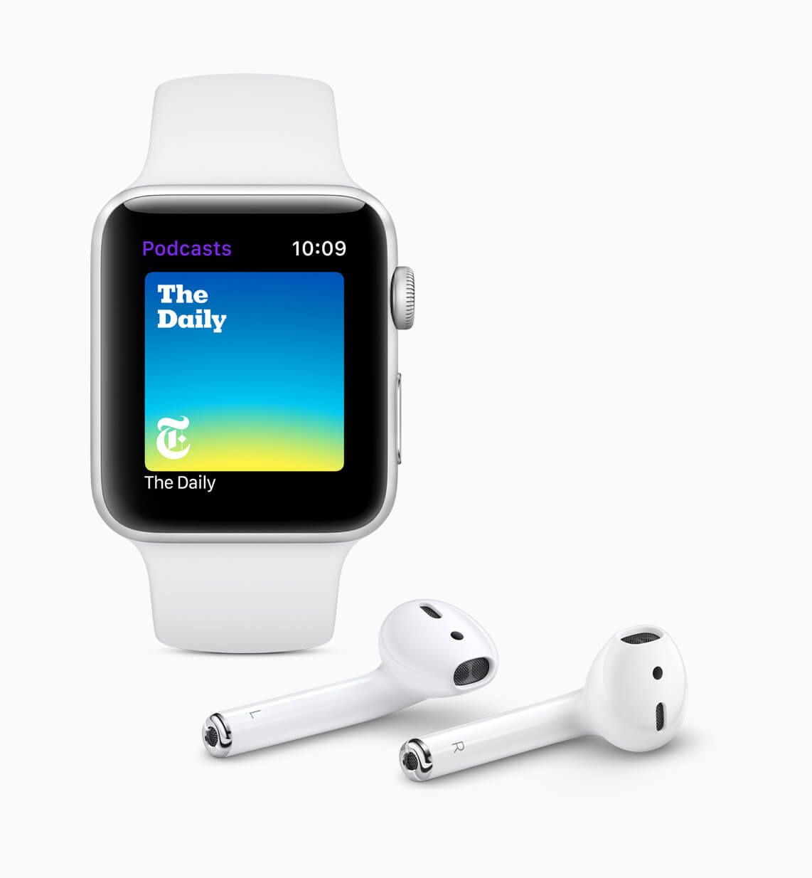 watchOS 5 Podcasts - Apple