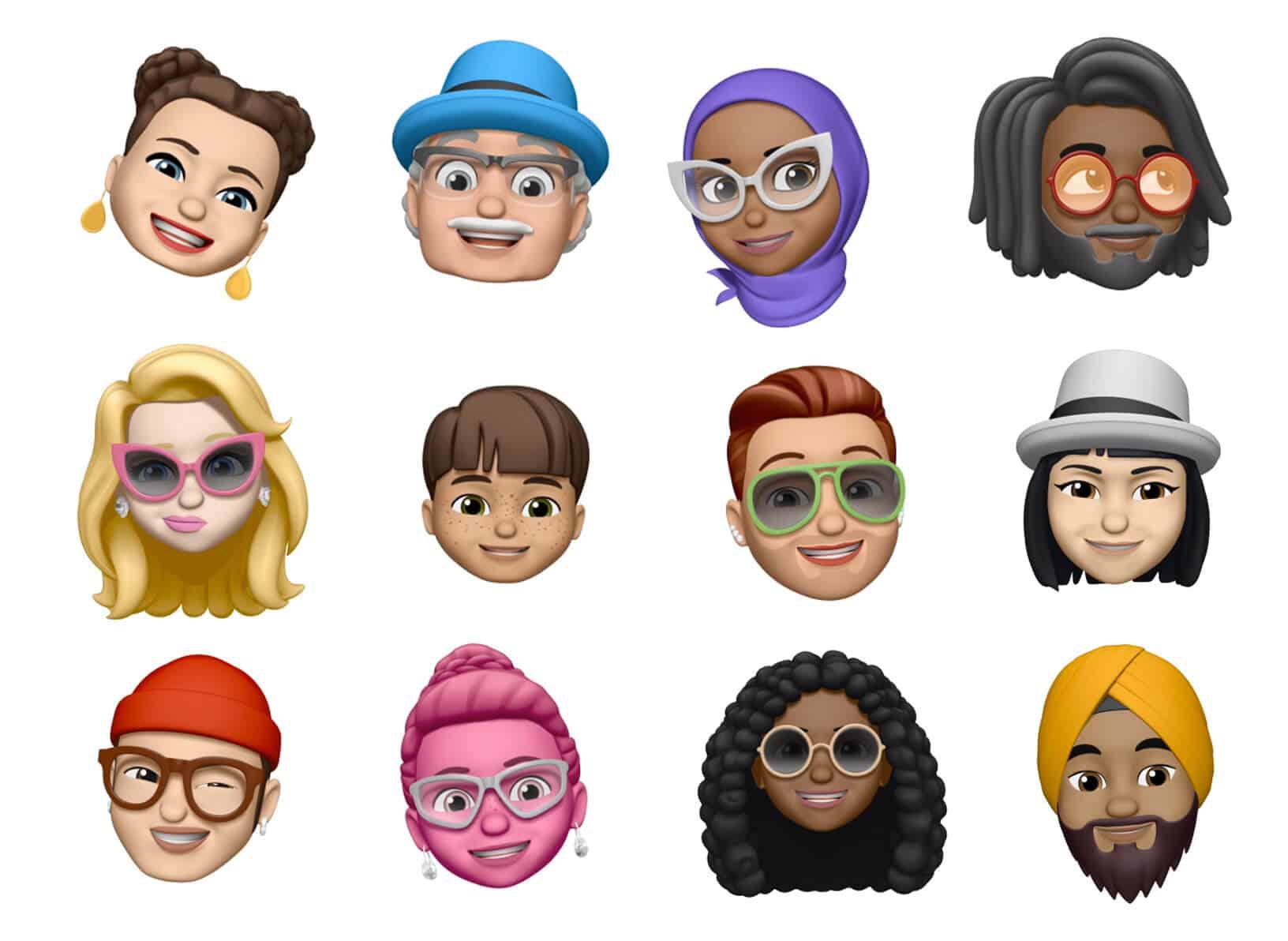 iOS 12 MeMojis