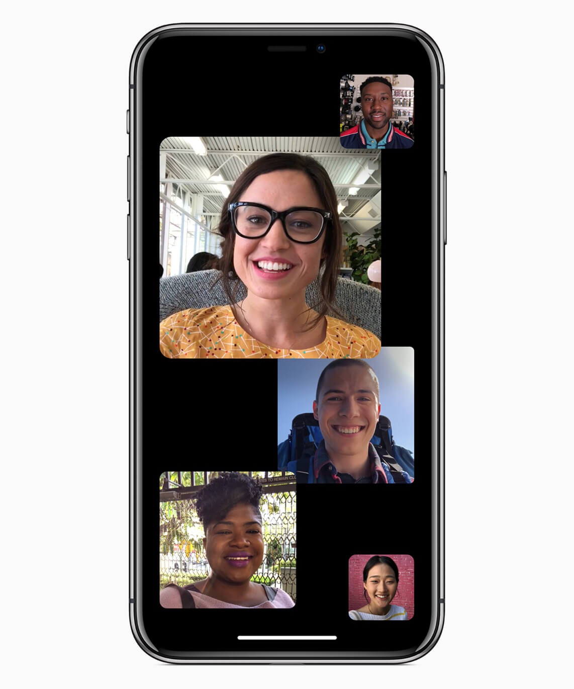 iOS 12 Facetime Gruppenanrufe