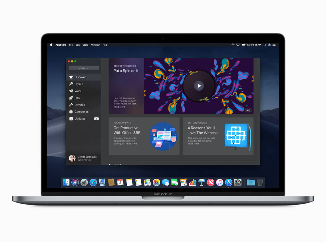 Mac App Store Mojave - Apple