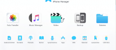 Bye bye, iTunes: DearMob iPhone Manager übernimmt den Job