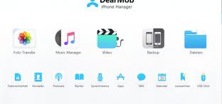 Bye bye, iTunes: DearMob iPhone Manager übernimmt den Job