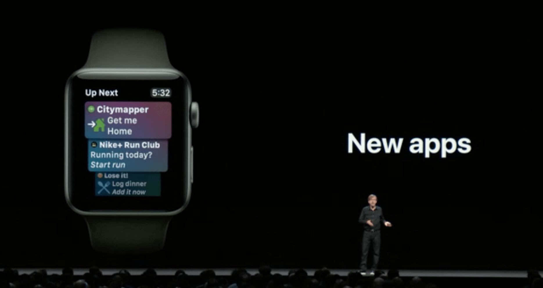watchOS 5 Siri Watchface Apple-