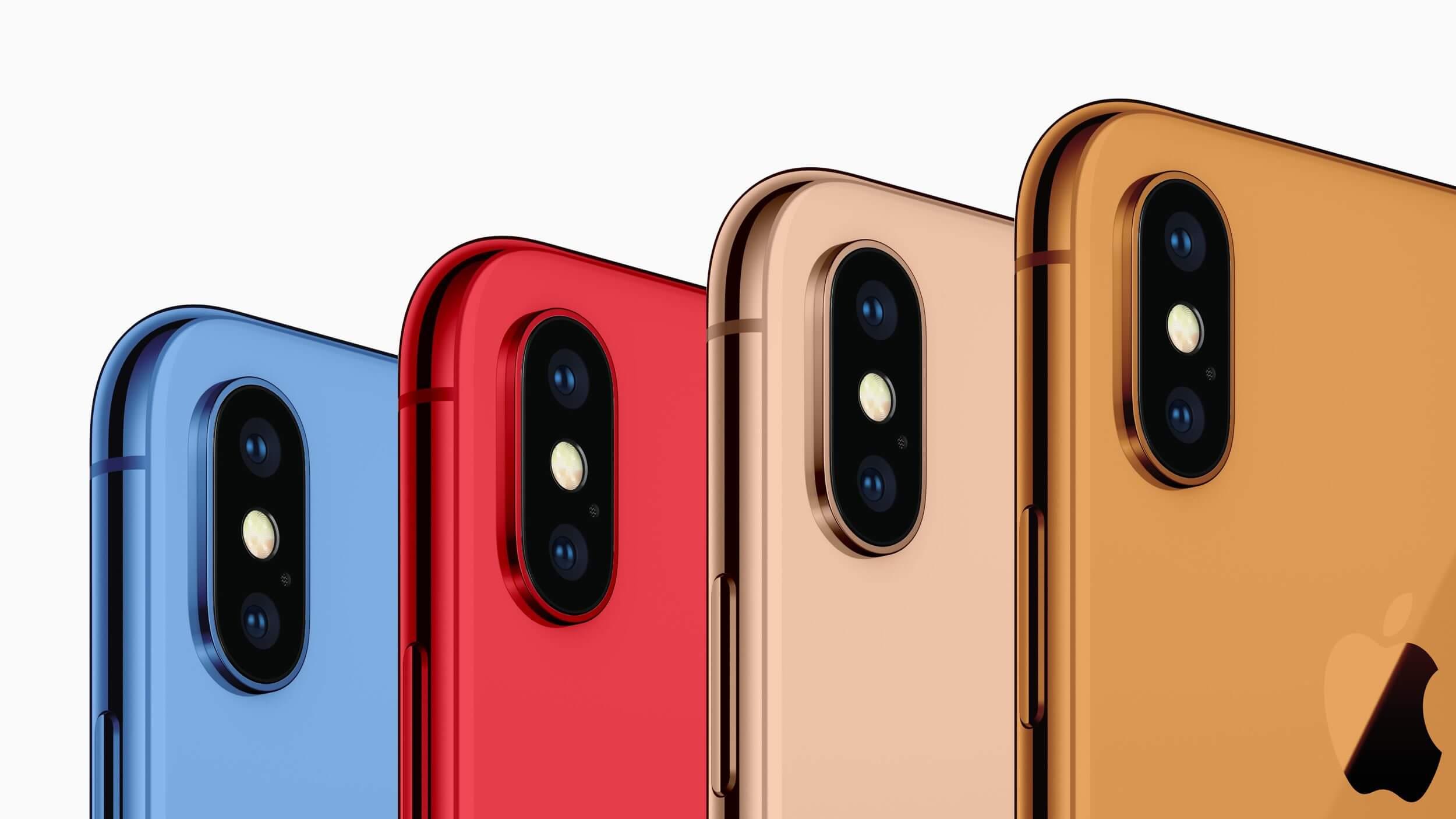 iPhone 2018 Farbvarianten
