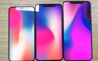 Bilder Leak: Displaygläser von 3 neuen iPhones verraten Details