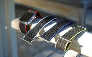 Review: Premium Apple Watch Stoffarmbänder von Bluestein [-20% PROMO Code]