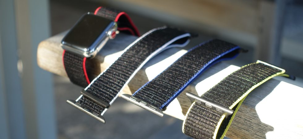 Review: Premium Apple Watch Stoffarmbänder von Bluestein [-20% PROMO Code]