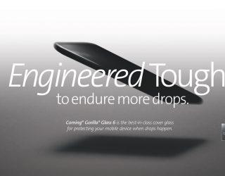 Biegsames iPhone: Corning entwickelt flexibles Glas