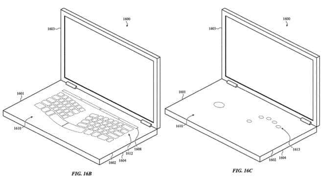 Apple-Patent Virtual Keyboard - US-Patent- und Markenamt