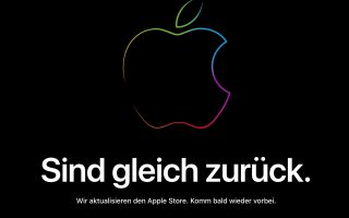Apple Store offline: Apple bereitet Keynote vor