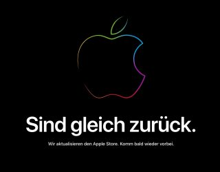 Apple Store down: Bald geht#s los