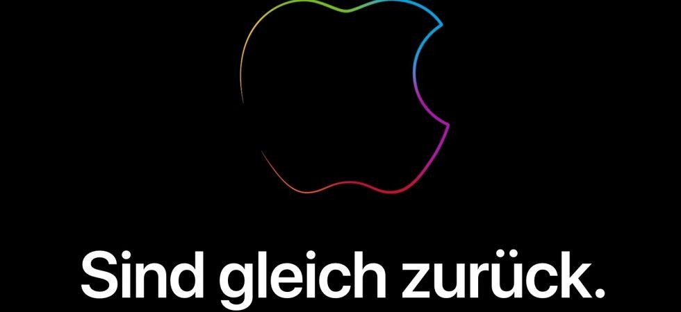 Apple Store offline: Apple bereitet Keynote vor