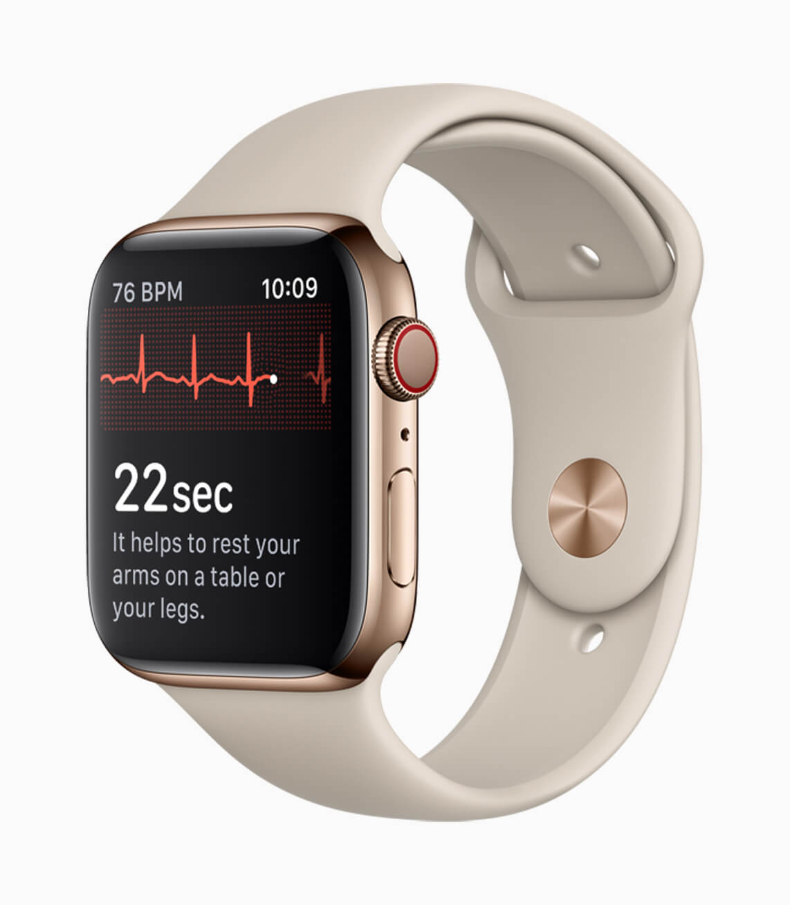 Apple WAtch Series 4 EKG-Krone