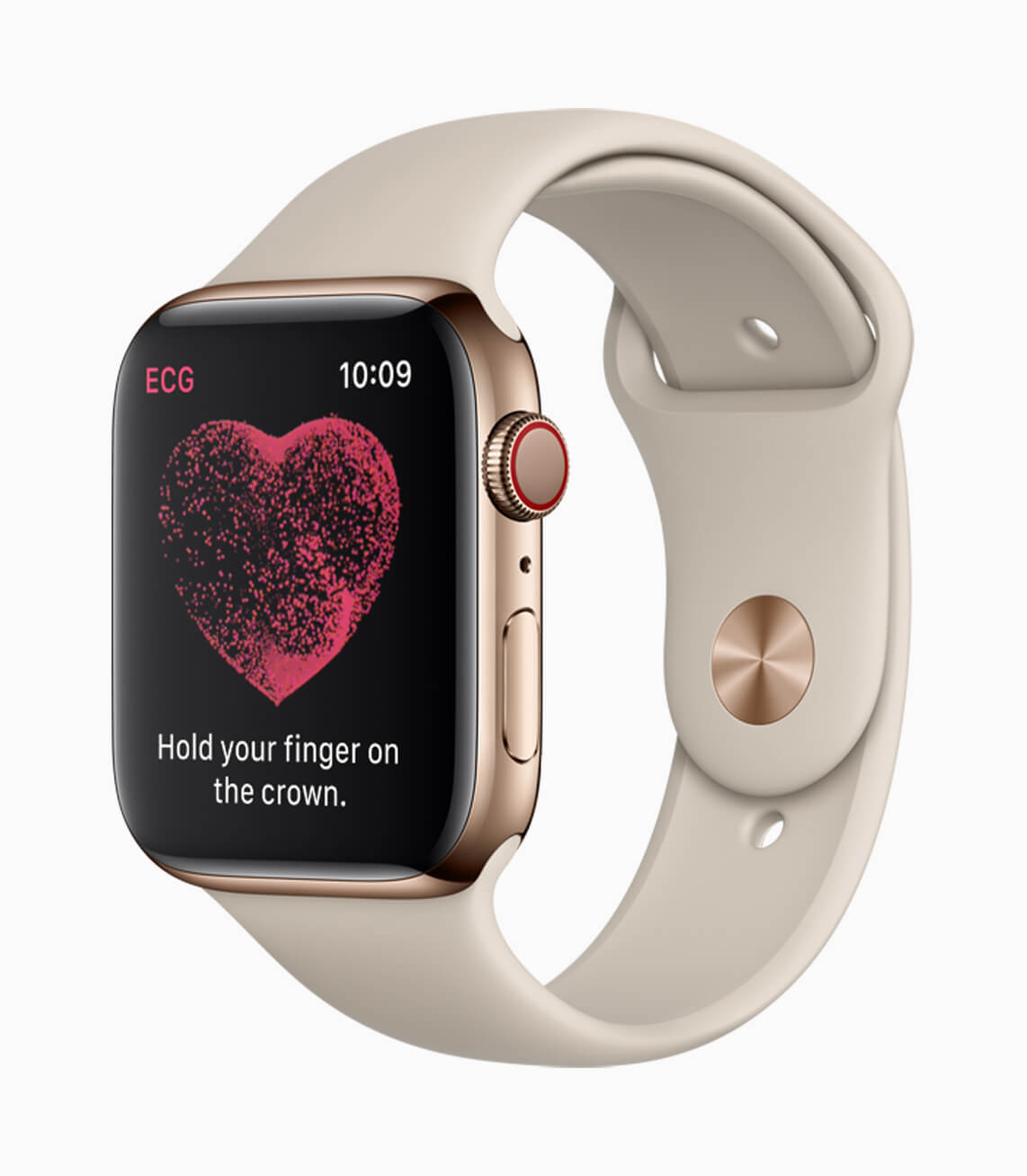 Apple Watch Series 4 EKG-Messung