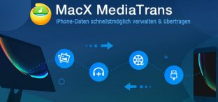 iPhone Fotos, Videos & Musik sichern ohne iTunes – MacX MediaTrans [Giveaway]