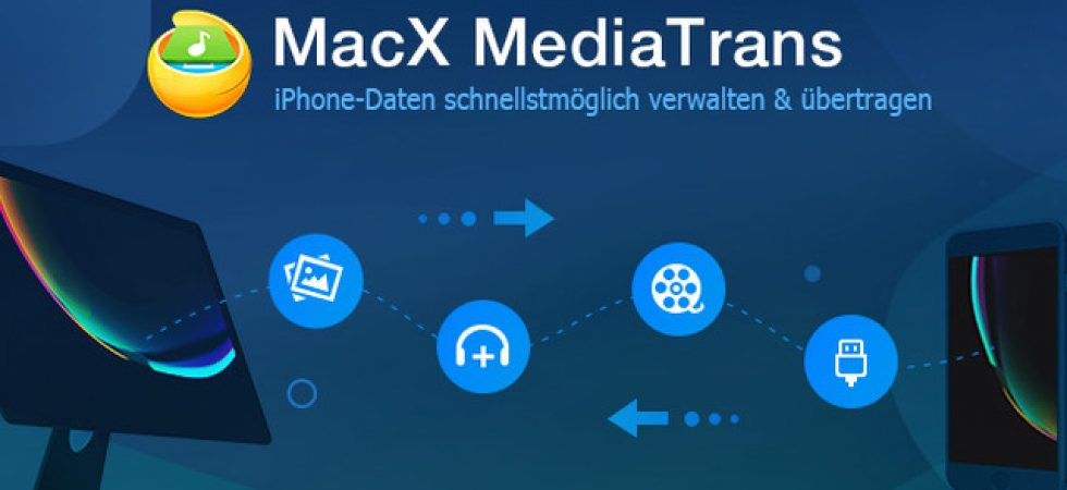 iPhone Fotos, Videos & Musik sichern ohne iTunes – MacX MediaTrans [Giveaway]
