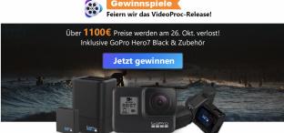 VideoProc: 4K Videos verarbeiten und bearbeiten (+Video Proc verschenkt GoPro Hero7)