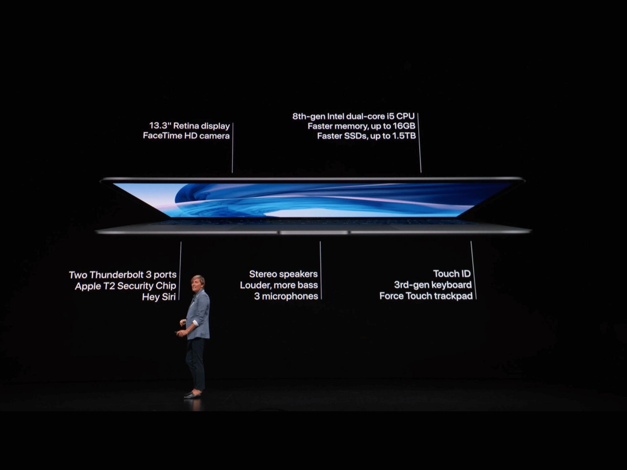 MacBook Air 2018  Spezifikationen