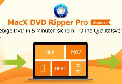 DVD-Inhalte auf iPhone, iPad und Co. übertragen mit dem MacX DVD Ripper Pro
