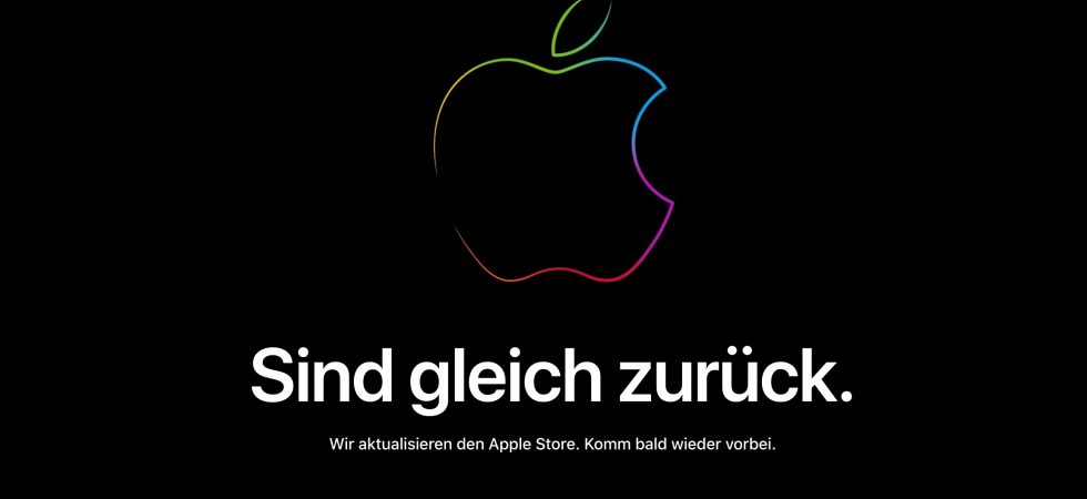 BREAKING: Apple Store vor Black Friday offline