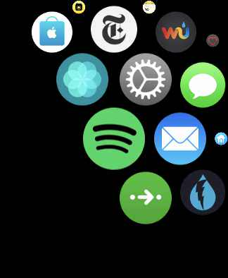 Spotify-App für die Apple Watch Screenshot