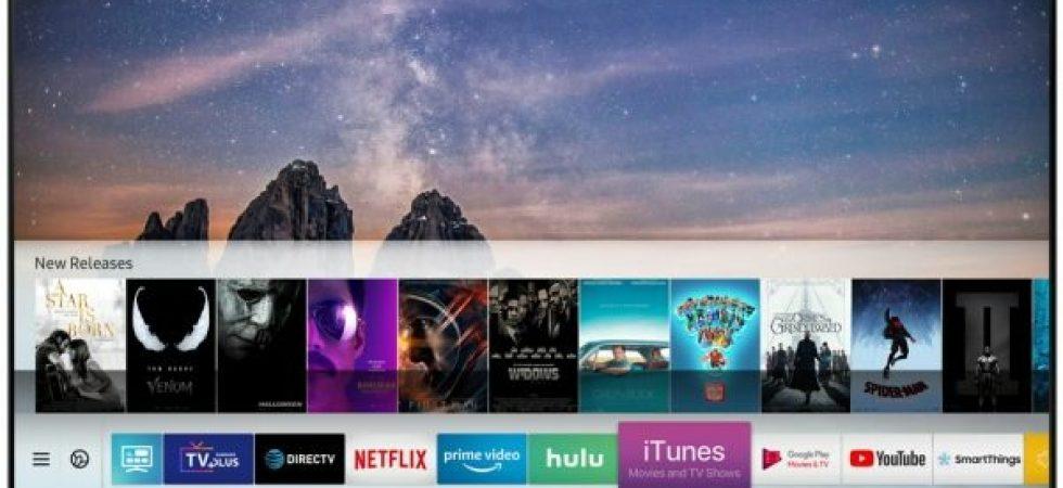 iTunes und AirPlay auf Samsungs Smart TVs: Apple stürmt den Fernseher