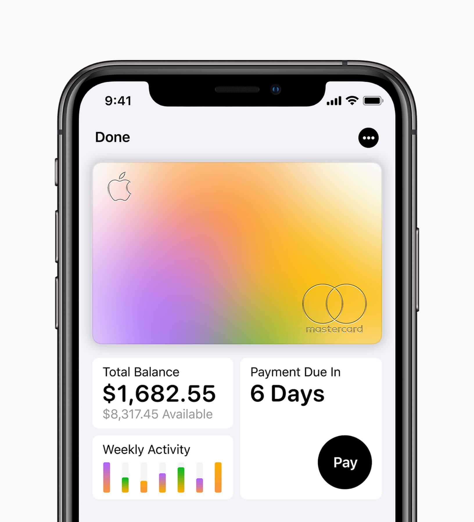 Apple Card: Kreditkarte mit Cashback-Programm für US-Kunden