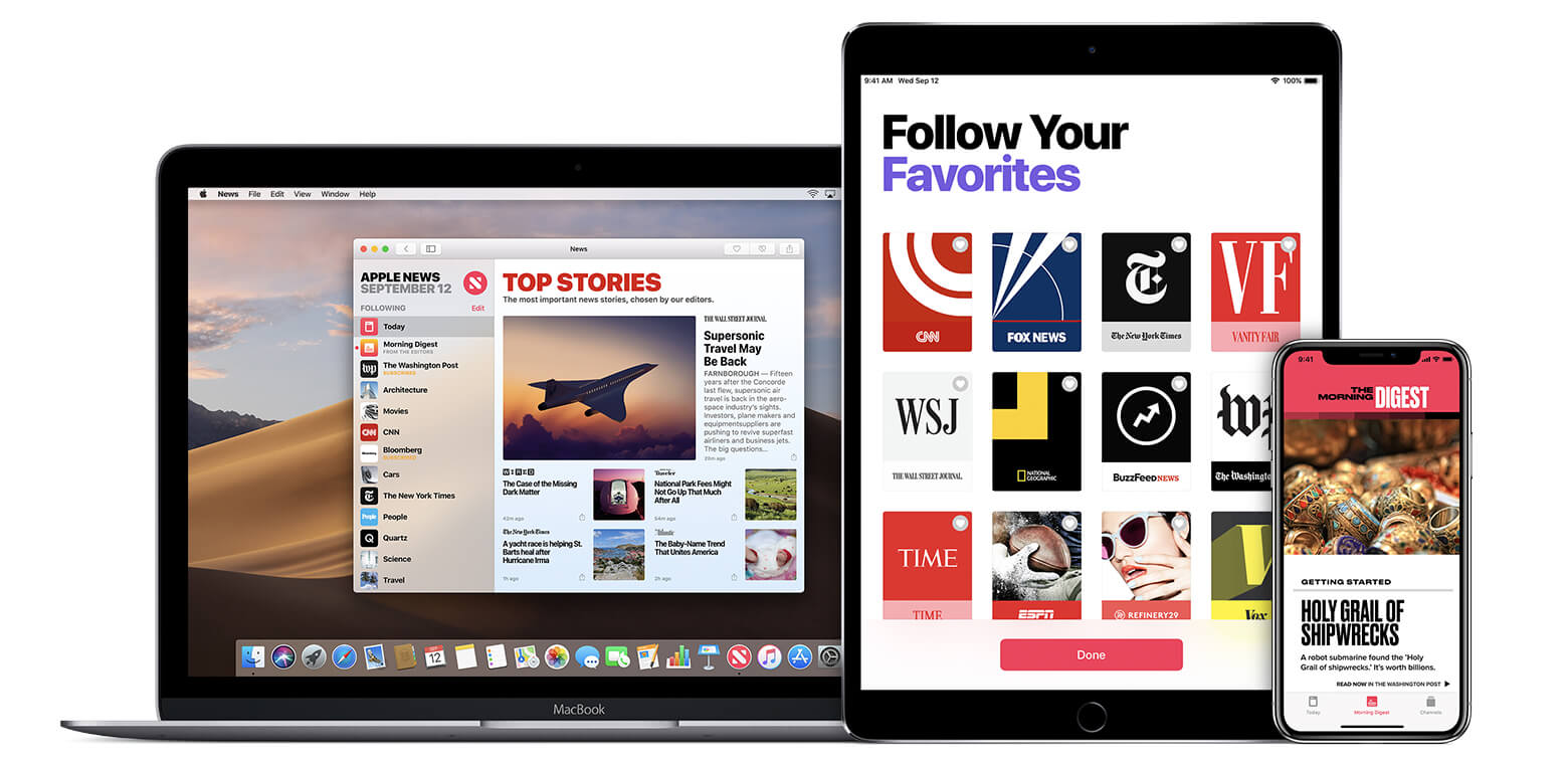 News App Bild: Apple