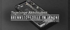 Tagelange Akkulaufzeiten durch Brennstoffzelle im iPhone oder MacBook – Apple Patente #01