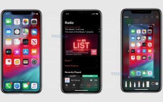 Breaking: iOS 13 Screenshots zeigen Dark Mode und mehr