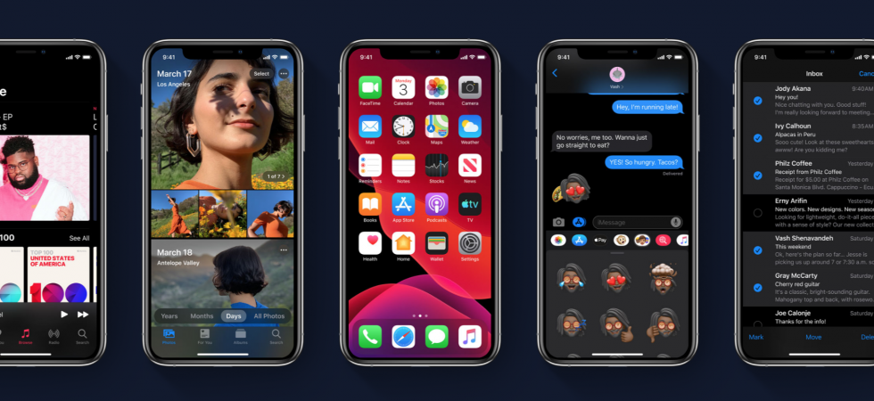 iOS 13 / iPadOS 13 Public Beta 4 und watchOS 6 Beta 5 wurden veröffentlicht