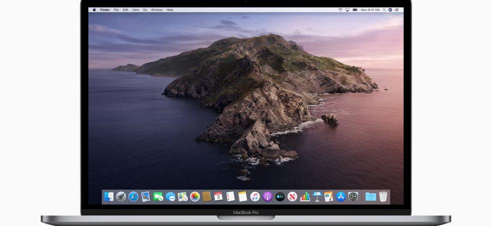 macOS Catalina 10.15.6 Beta 2 kann von Entwicklern geladen werden