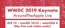 WWDC 2019: Keynote-LiveTalk und LiveTicker bei Apfellike.com
