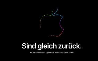 Apple Store offline: Vermutlich Vorbereitung auf Black Friday