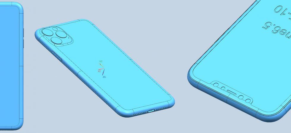 Bilder: iPhone XI, XI Max und XIR zeigen die Triple-Cam