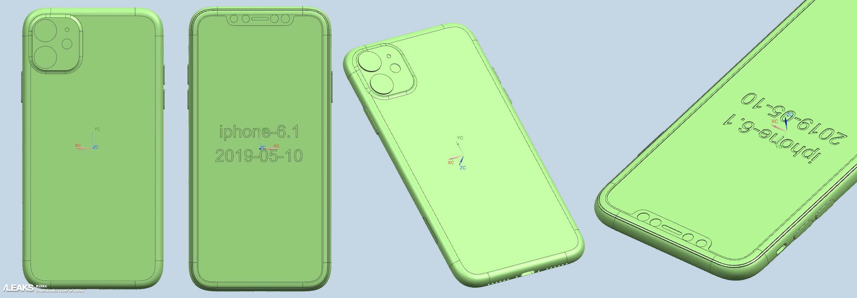 iPhone XI Renderings - Slashleaks